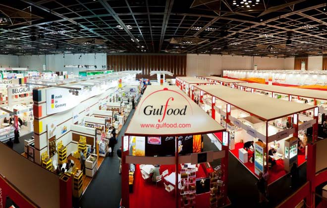 Ukrainian flour and cereals at the Gulfood exhibition in Dubai